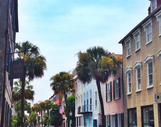 Charming Streets in Charleston
